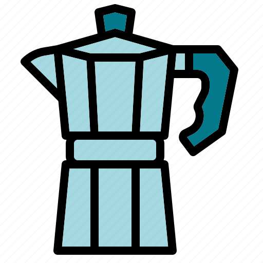 boil, coffee, drink, moka, pot icon