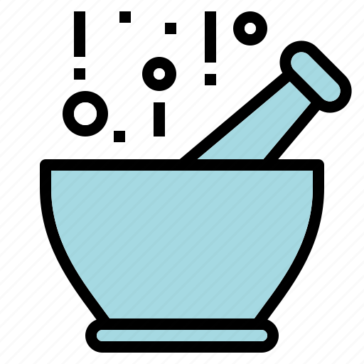 cooking, kitchen, mortar, pestle icon