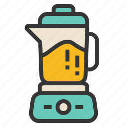 appliance, blender, cooking, electric, mix icon