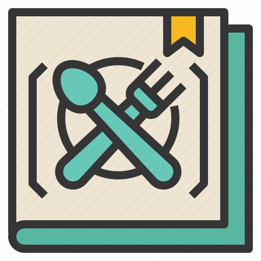 cookbook, learning, preparation, restaurant icon