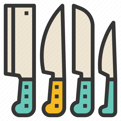 cooking, cutlery, kitchen, knives icon
