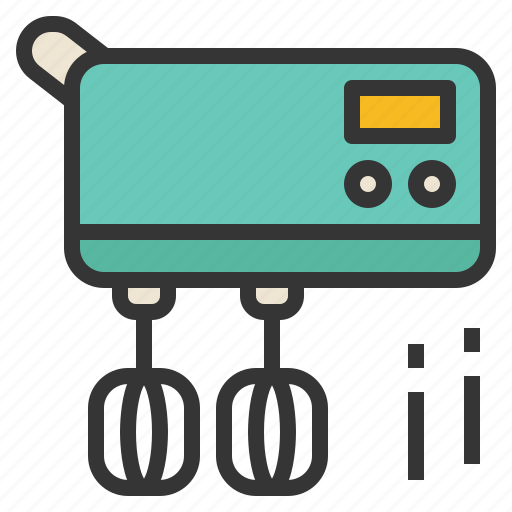 appliance, cooking, electric, mixer icon