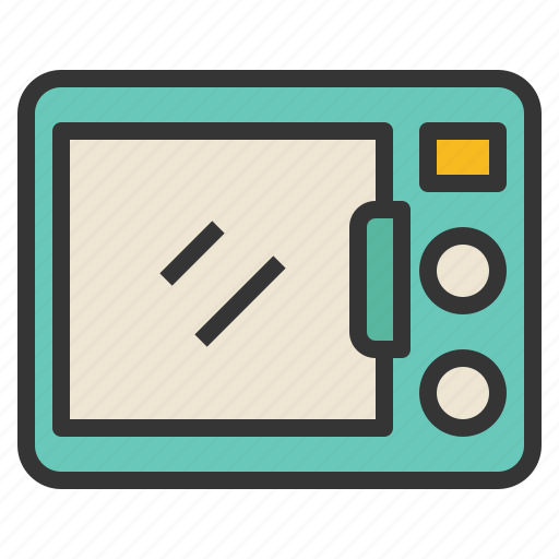 appliance, electric, kitchen, microwave, tools icon