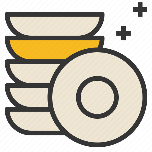 dish, kitchenware, plates, utensils icon