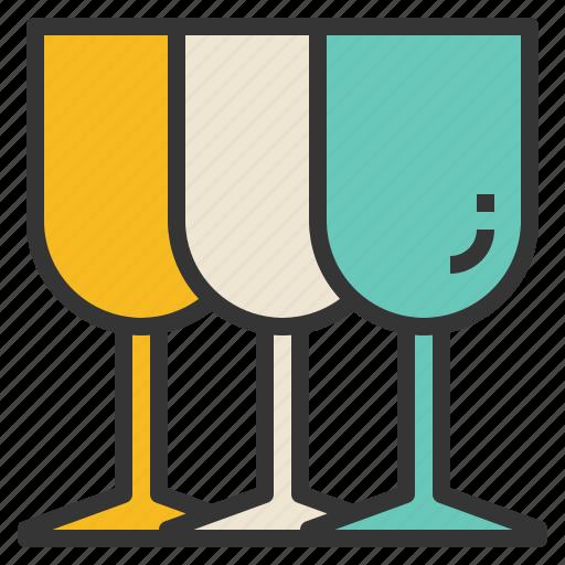 bar, glass, kitchenware, wine icon
