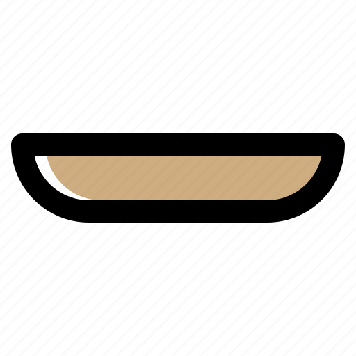 Bowl, degree, kitchen, plate, platter, serving icon - Download on Iconfinder