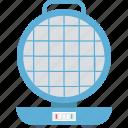 kitchen appliance, stovetop waffle, waffle iron, waffle machine, waffle maker icon