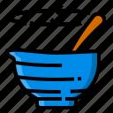 bowl, cooking, food, kitchen, mix, mixing, utensil icon