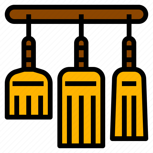 broom, clean, housework, sweep, whisk icon