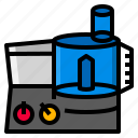 blender, cooking, food, healthy, kitchen, processor icon