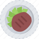 beefsteak, cook, cooking, food, kitchen, restaurant icon