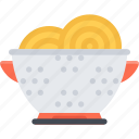 colander, cook, cooking, food, kitchen, restaurant icon