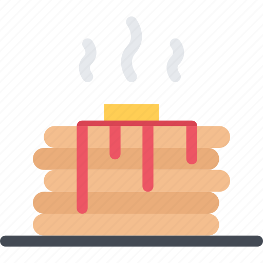 cook, cooking, food, kitchen, pancakes, restaurant icon