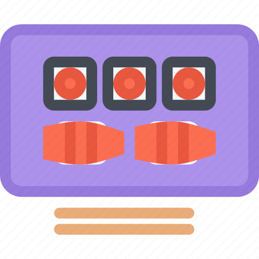 cook, cooking, food, kitchen, restaurant, sushi icon