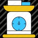 machine, weighing, weighingmachine icon