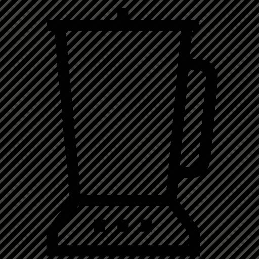 blender, juicer, kitchen appliance, kitchen electricals, liquidiser icon