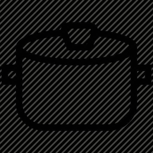 casserole pot, cooking pans, cooking pot, cookware, saucepan, stockpot icon