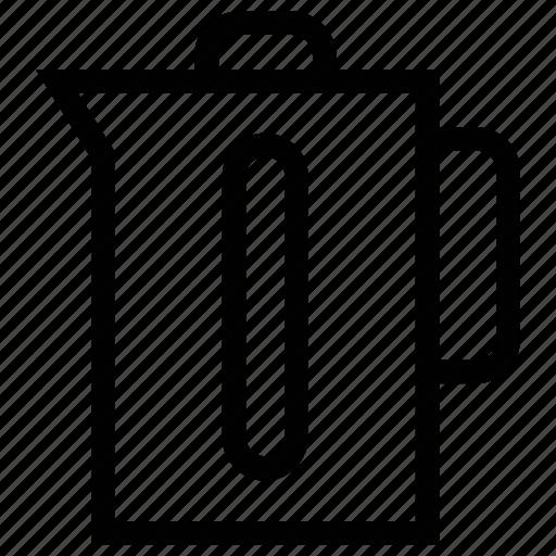 beaker, carafe, jug, juice, milk, pitcher, water jug icon