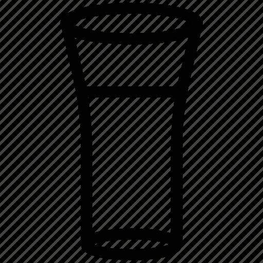beverage, drink, glass, juice, milk, water icon