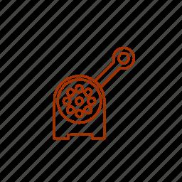 foodgrinder, grinder, kitchen, masher icon