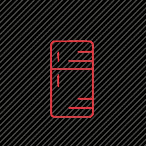 cold, food, fridge, kitchen, storage icon