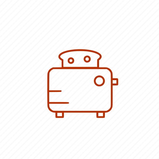 bread, kitchen, toast, toaster icon