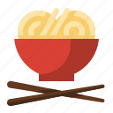 asian, chinese, chop sticks, food, meal, noodles, ramen icon