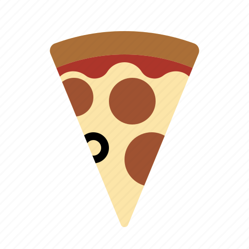 food, kitchen, meal, pizza, slice icon