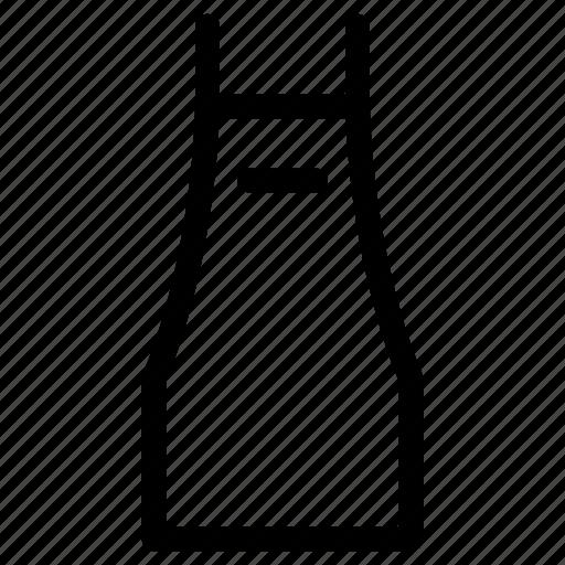 apron, kitchen, supply icon