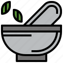 chemical, education, food, grinding, medicine, mortar, pestle icon