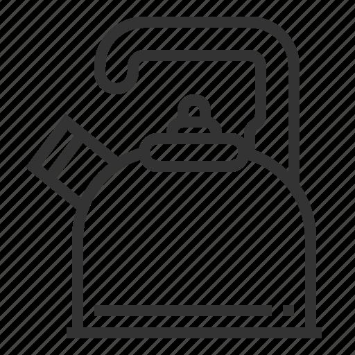 kettle, kitchen, pot, teapot icon