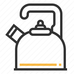 equipment, kettle, kitchen, pot icon