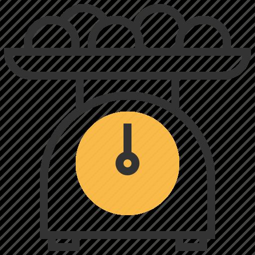 equipment, kitchen, scale, tools icon