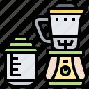 blender, electric, jar, juicer, smoothie