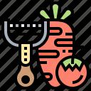 carrot, peeler, scraper, slicer, vegetable icon