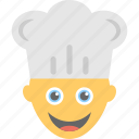 baker, bakerman, chef, cook, professional icon