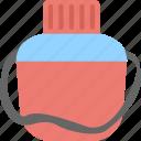 bottle, kids bottle, plastic bottle, water bottle, water container icon
