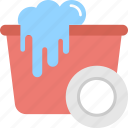 cleanliness, housekeeping, liquid cleaner, paper towel, scrubbing symbol icon