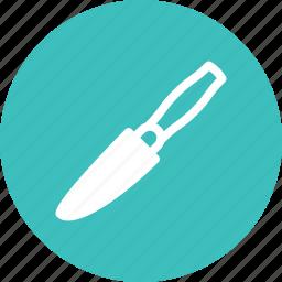 blade, cut, kitchen, knife, slice, utensil icon