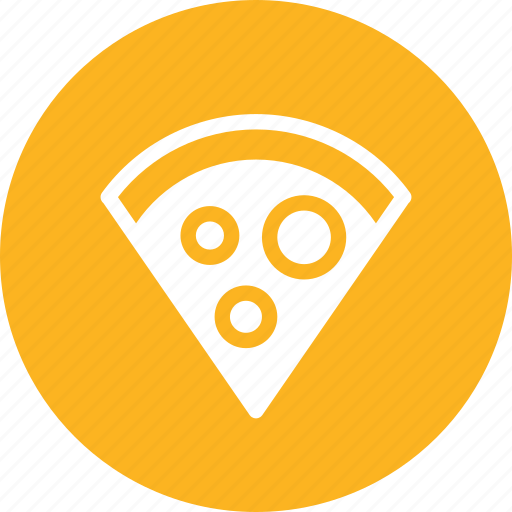 cheese, fast food, food, pizza, slice icon