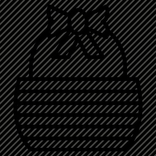 basket, bread, kitchen utensils, shopping icon