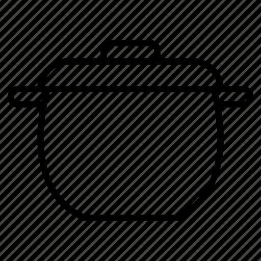 cooker, kitchen utensils, pot, stove icon