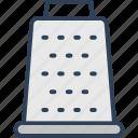 food grater, grater, hand grater, kitchen grater, kitchen utensil icon