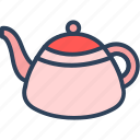 electric kettle, kettle, tea kettle, tea serving, teapot icon