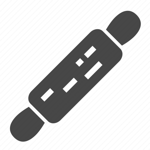 kitchen utensils, pin, rolling icon