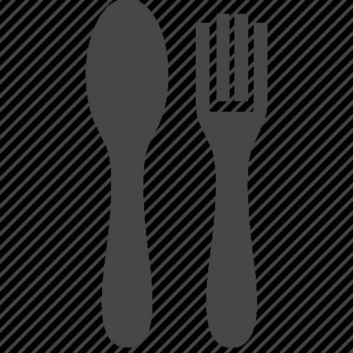 food, fork, kitchen, spoon, utensils icon