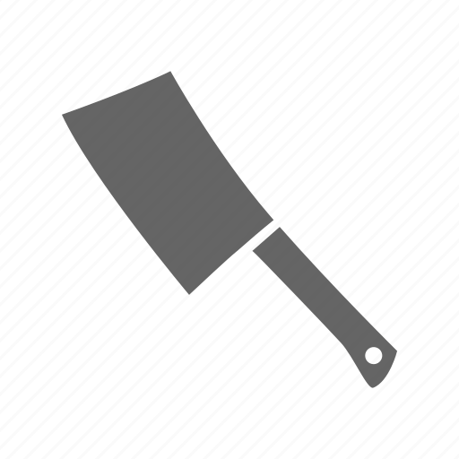 cleaver, cook, fast, food, kitchen, meal, meat icon