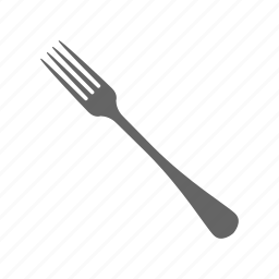 dish, equipment, food, fork, kitchen, meal, tool icon