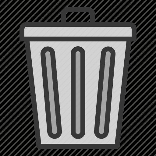 bin, kitchen, trashcan, utensill icon