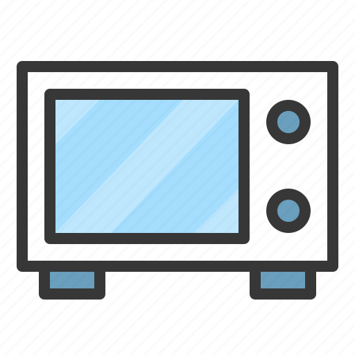 cooking, kitchen, microwave, utensill icon